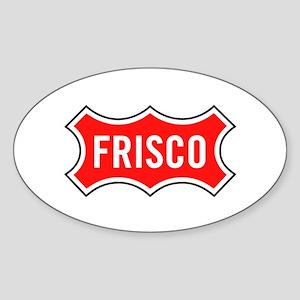 Frisco Railroad Sticker