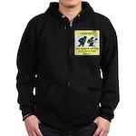 umpire t-shirts presents Zip Hoodie (dark)