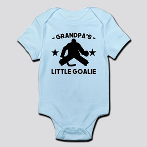 Grandpas Little Goalie Hockey Body Suit
