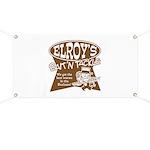 ELROYS DARK BROWN Banner