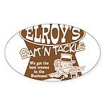 ELROYS DARK BROWN Sticker