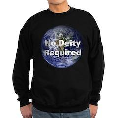 No Deity Required Sweatshirt (dark)