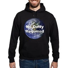 No Deity Required Hoodie (dark)