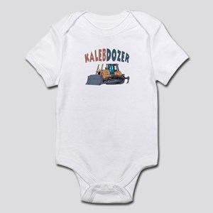 Kalebdozer the Bulldozer Infant Bodysuit