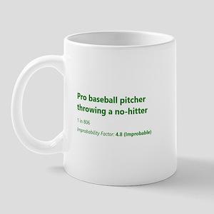 Pro Baseball Pitcher Throwing A No-Hitter Mugs