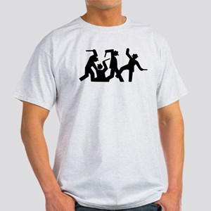 Stick Figures In Peril Light T-Shirt