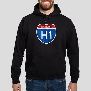Interstate H1, USA Hoodie (dark)