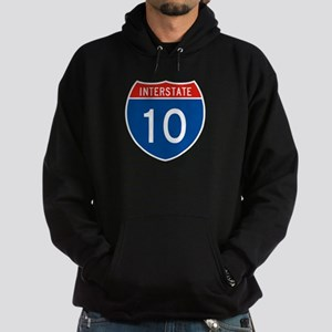 Interstate 10, USA Hoodie (dark)