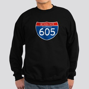 Interstate 605 - CA Sweatshirt (dark)