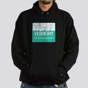 Welcome to Vermont - USA Hoodie (dark)