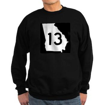 State Route 13, Georgia Sweatshirt (dark)