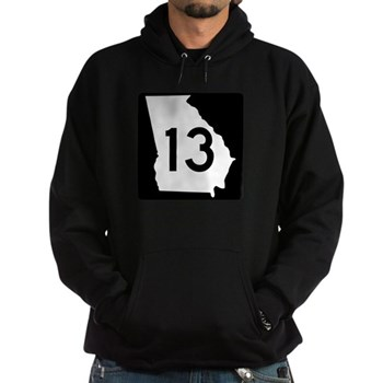 State Route 13, Georgia Hoodie (dark)
