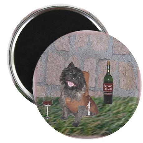 "Merrie Monk Cairn Terrier 2.25"" Magnet (10 pack)"