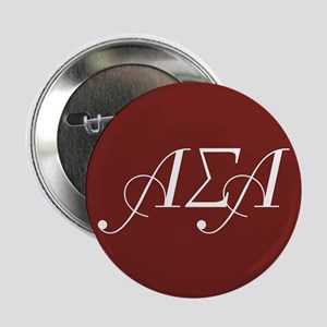"Alpha Sigma Alpha Letters 2.25"" Button"