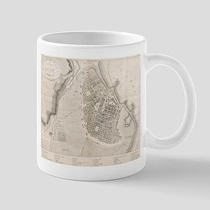Vintage Map of Odessa Ukraine (1827) Mugs