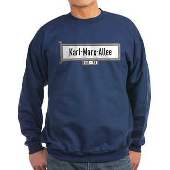 Karl-Marx-Allee, Berlin - German Sweatshirt (dark)