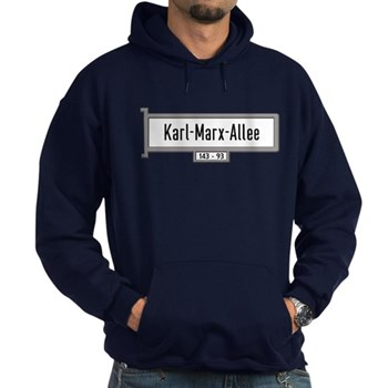 Karl-Marx-Allee, Berlin - Germany Hoodie (dark)