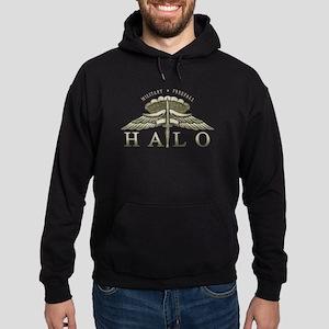 Halo Badge Hoodie (dark)