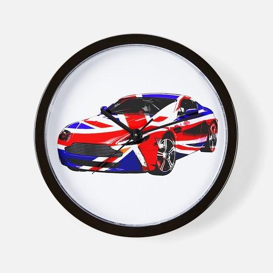 Aston Martin Wall Clock