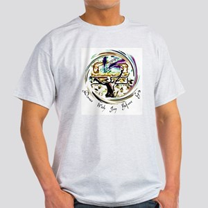 Dance With Joy Ash Grey T-Shirt