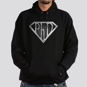 Super PhD - metal Hoodie (dark)