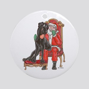 NBlk I Been Good Ornament (Round)