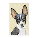 Fox Terrier (Toy) 20x12 Wall Decal