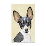 Fox Terrier (Toy) 35x21 Wall Decal