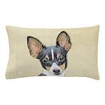 Fox Terrier (Toy) Pillow Case