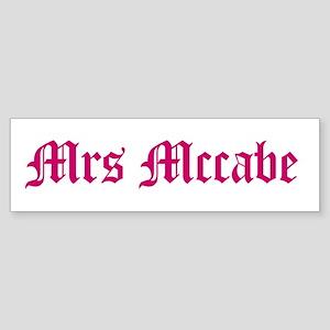 Mrs Mccabe Bumper Sticker