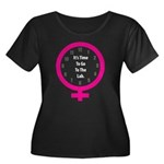 Time To Go To The Lab Women's Plus Size Scoop Neck