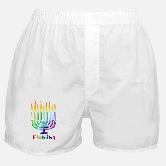 Flaming Boxer Shorts