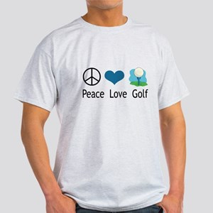 Peace Love Golf Light T-Shirt