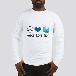 Peace Love Golf Long Sleeve T-Shirt
