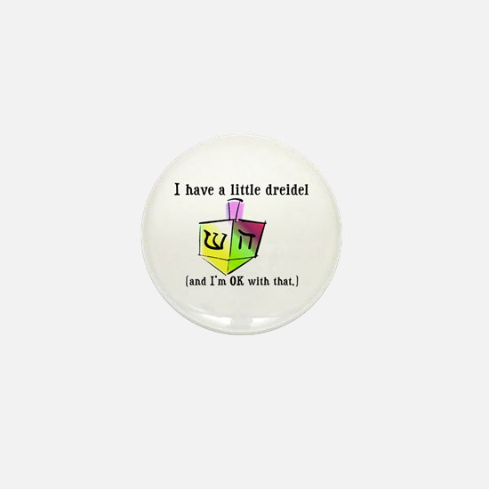 I Have a Little Dreidel Mini Button
