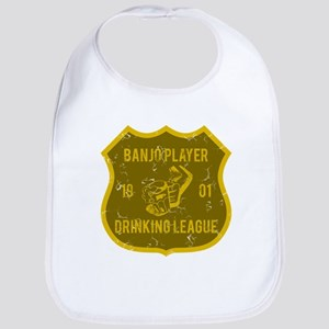 Banjo Player Drinking League Bib