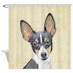 Fox Terrier (Toy) Shower Curtain