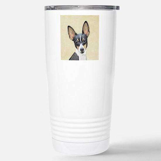 Fox Terrier (Toy) Stainless Steel Travel Mug