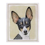 Fox Terrier (Toy) Throw Blanket