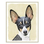 Fox Terrier (Toy) Small Poster