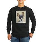 Fox Terrier (Toy) Long Sleeve Dark T-Shirt