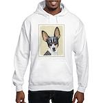 Fox Terrier (Toy) Hooded Sweatshirt