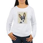 Fox Terrier (Toy) Women's Long Sleeve T-Shirt