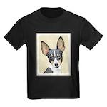 Fox Terrier (Toy) Kids Dark T-Shirt