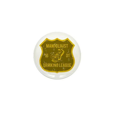 Mandolinist Drinking League Mini Button