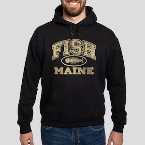 Fish Maine Hoodie (dark)