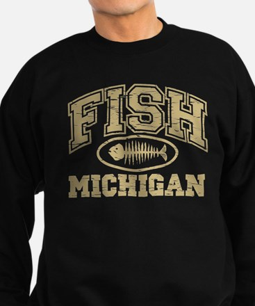 Fish Michigan Sweatshirt (dark)