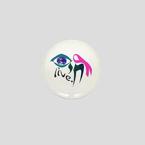 Chai Breast Cancer Awareness Mini Button
