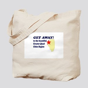 Get Away to the Quad Cities Tote Bag