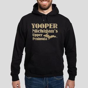 Yooper Michigan's U.P. Hoodie (dark)